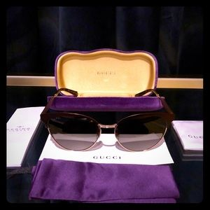 NWT Gucci Women's Sunglasses GG0074s
